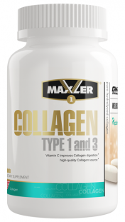 Maxler Collagen Type I & III (90 таб)
